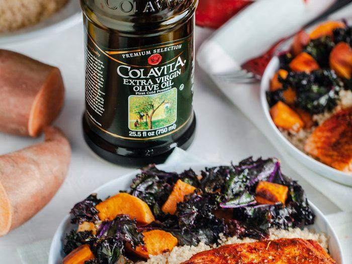 Blackened Salmon with Veggies and Quinoa