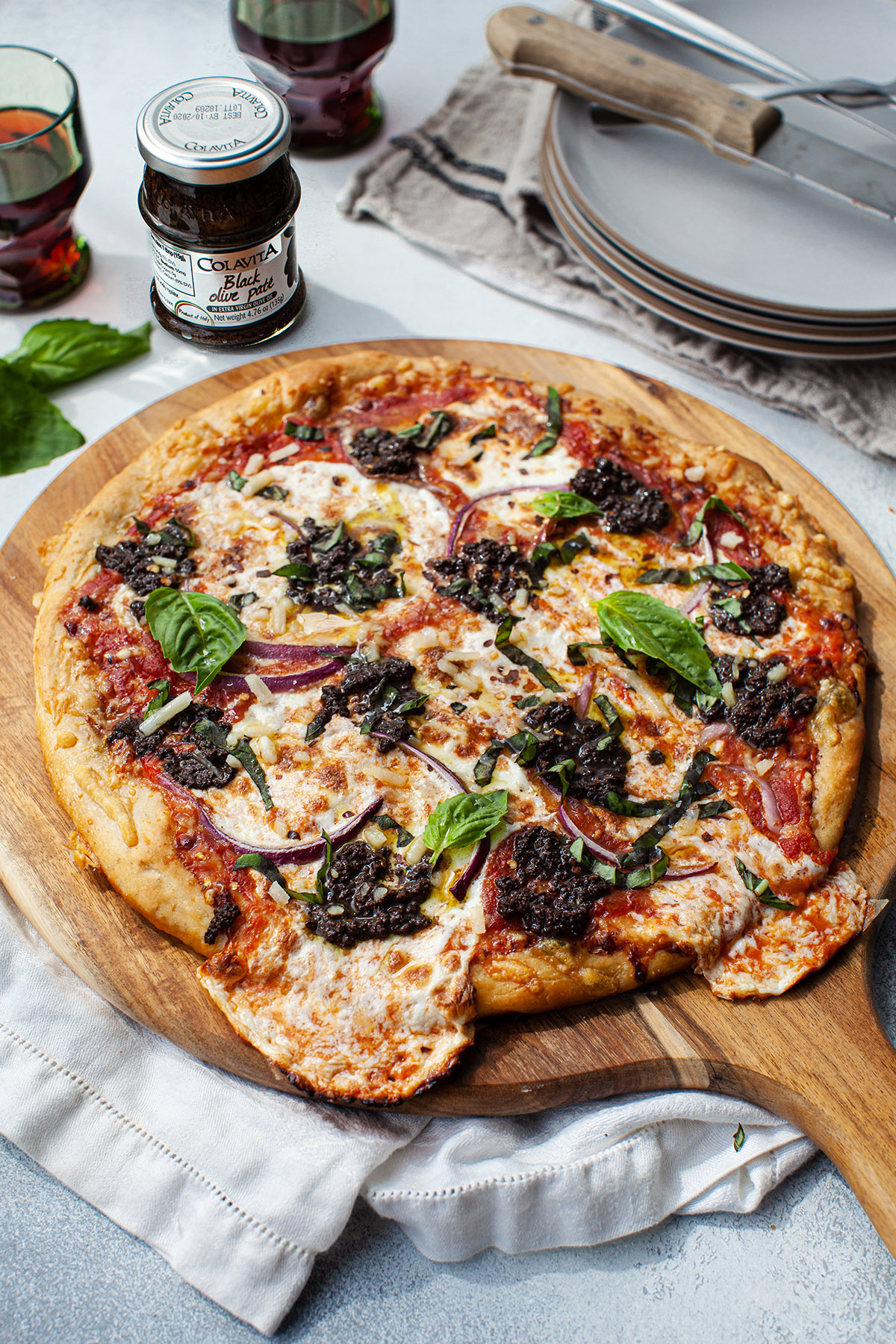 Black Olive Pizza