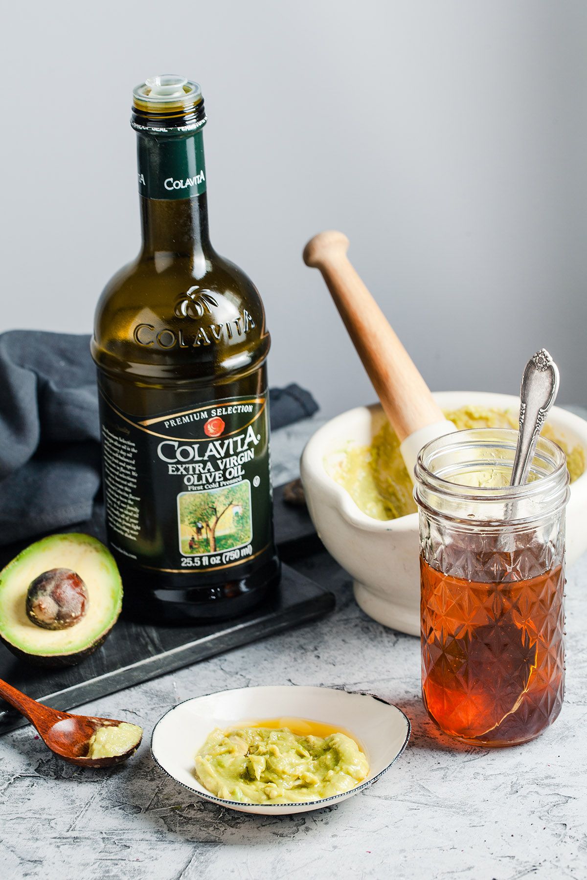 Olive Oil, Avocado, and Honey Mask