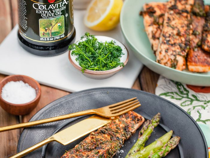 Herb Marinated Salmon