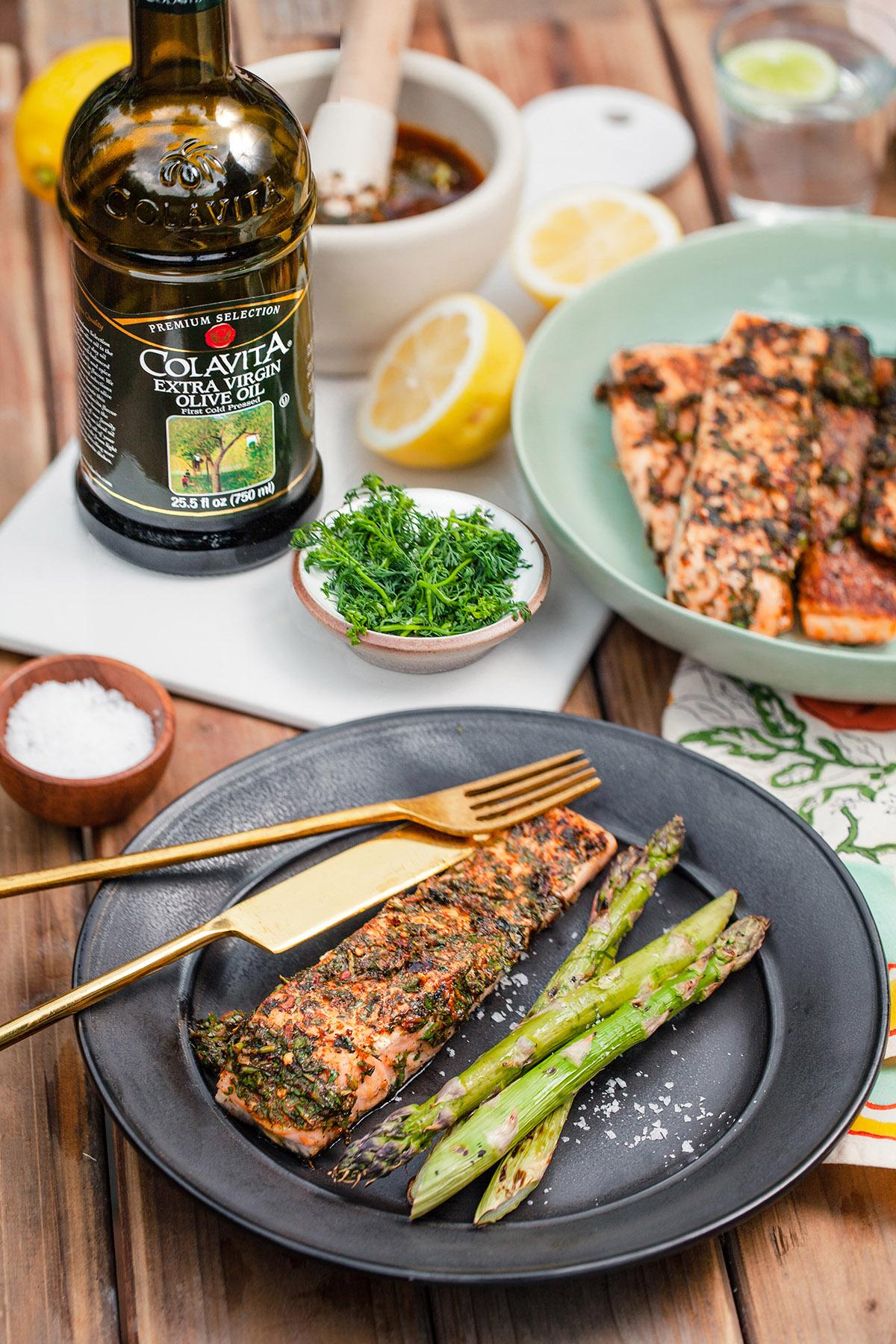 Herb Marinated Salmon