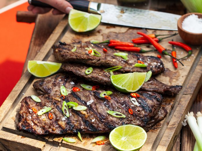 Thai Grilled Skirt Steak