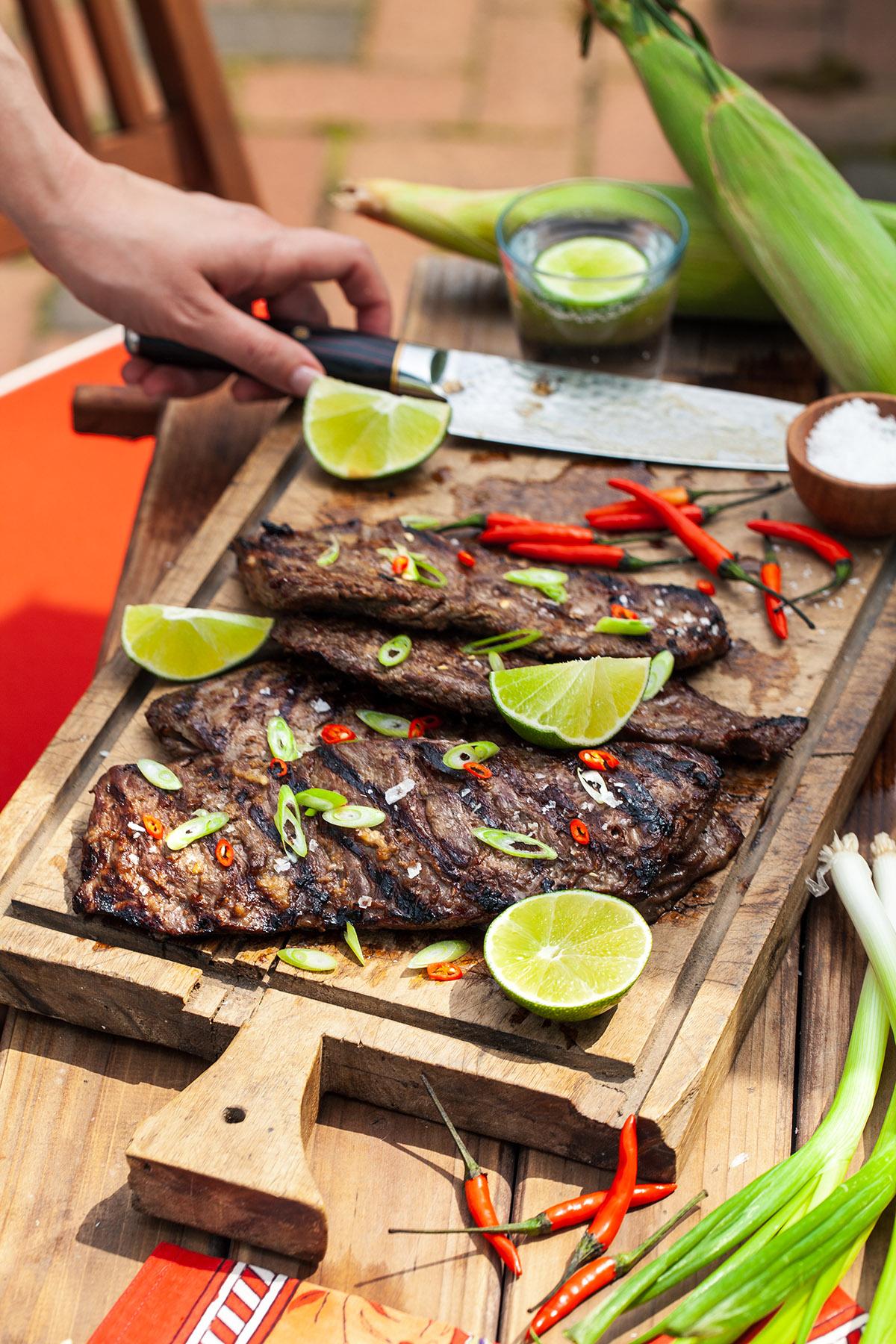 Thai Grilled Skirt Steak
