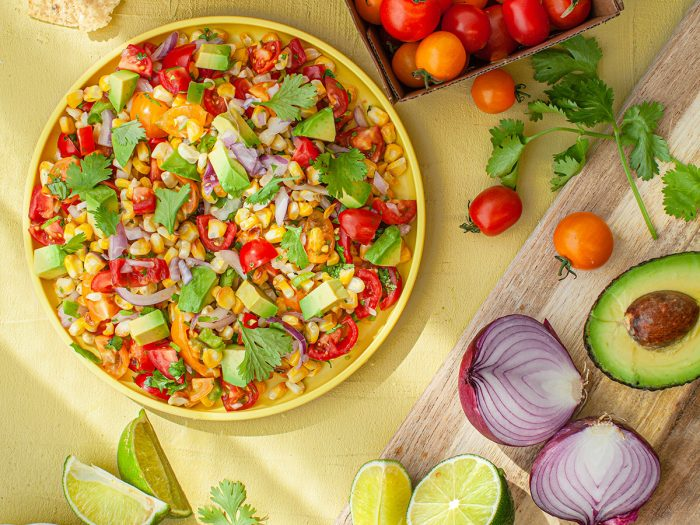 Colavita Recipe for Grilled Corn and Tomato Salsa