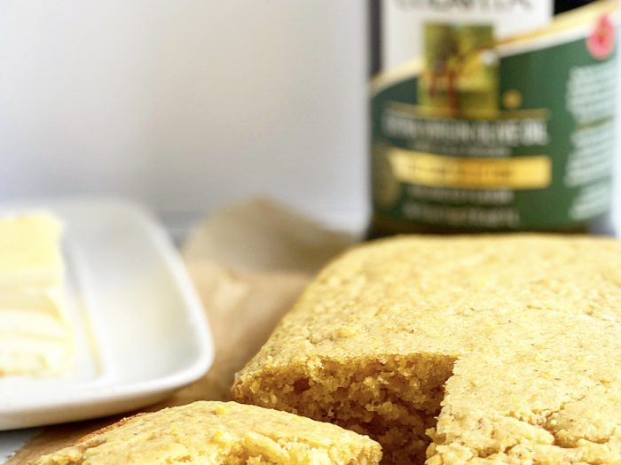cornbread with olive oil