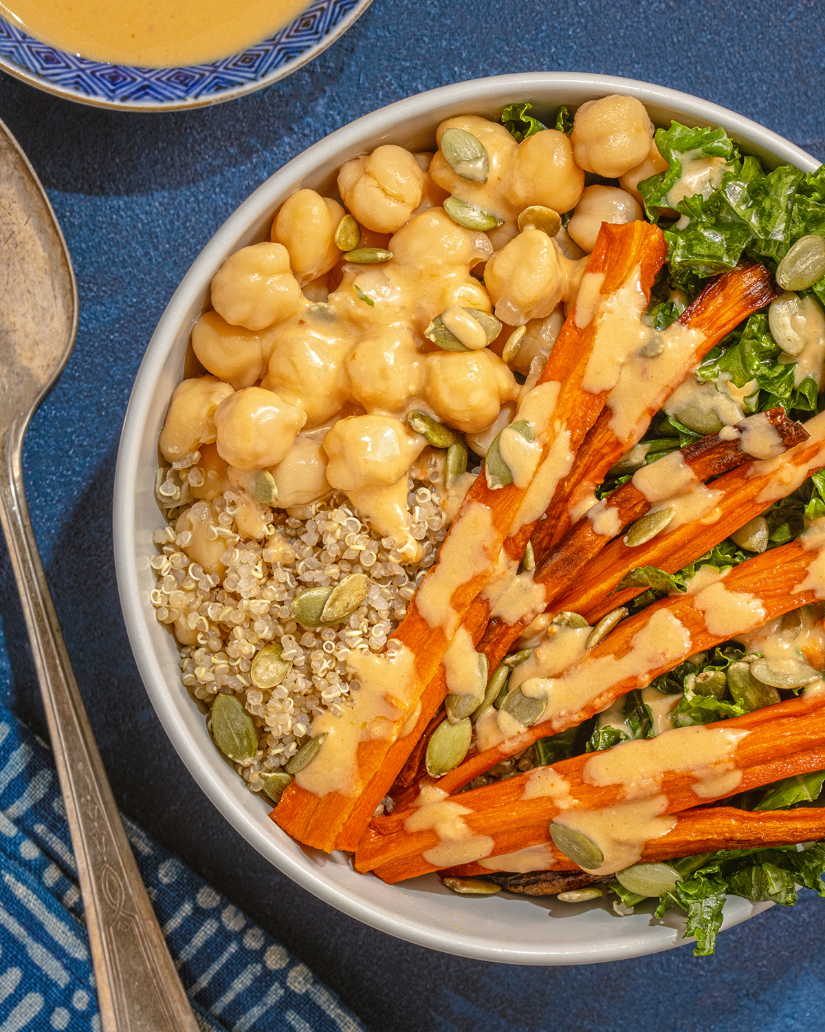 Roasted Carrot Bowl